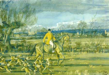 A little Piece of England' by Sir Alfred Munnings.