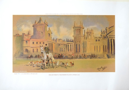 The Heythrop at Blenheim Palace by Michael Lyne