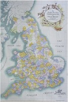Foxhunting Map of Great Britain